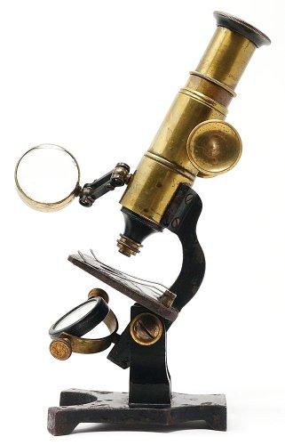 拡大鏡付き顕微鏡
