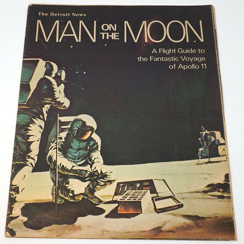 The Detroit News「MAN ON THE MOON」/アメリカ1969年