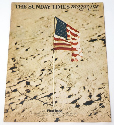 THE SUNDAY TIMES magazine「First base」/アメリカ1969年8月