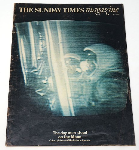 THE SUNDAY TIMES magazine「The day men stood on the Moon」/アメリカ1969年7月