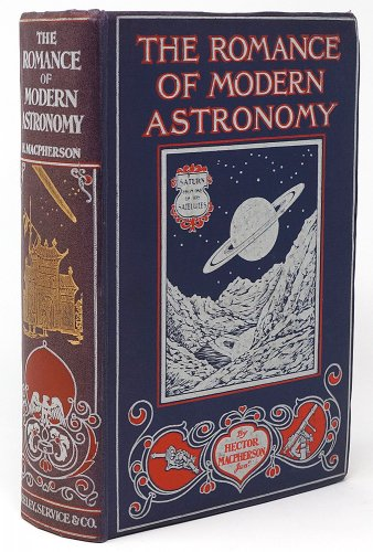「THE ROMANCE OF MODERN ASTRONOMY」/イギリス1923年