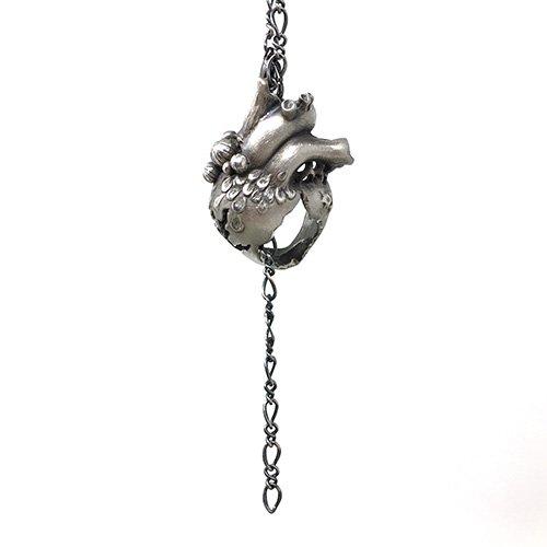 人魚の心臓 ネックレス