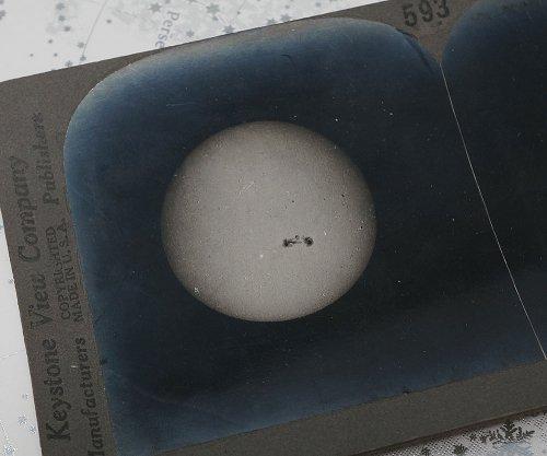 ステレオ写真「THE SUN」