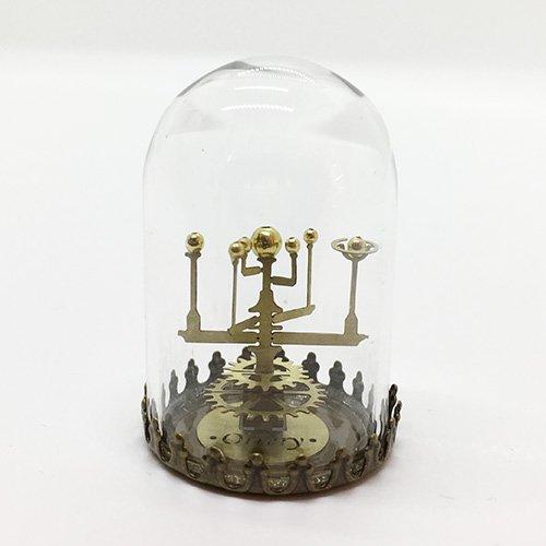 太陽系儀/六惑星儀(ガラスドームオブジェ)/ものづくりの部屋