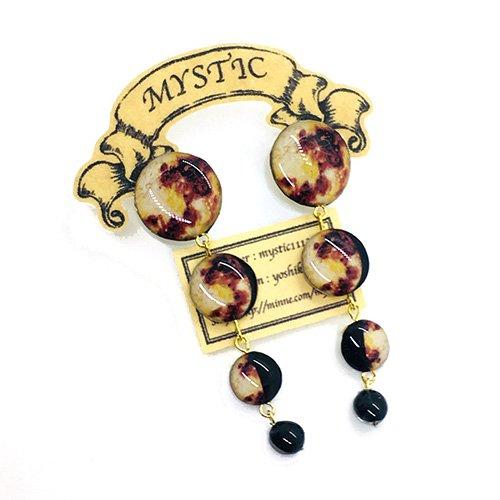 「月の満ち欠けピアス」MYSTIC