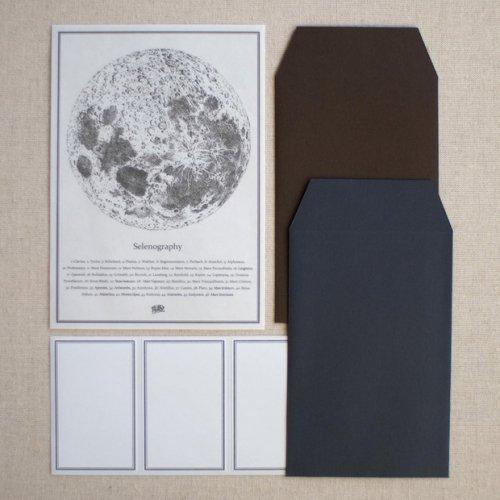 博物画手紙「月」