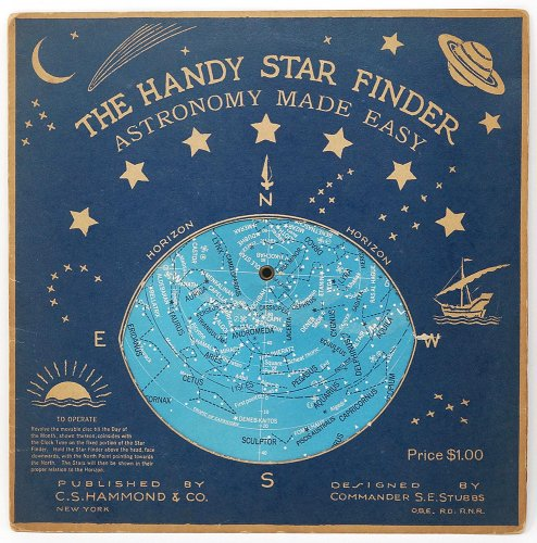 THE HANDY STAR FINDER ASTRONOMY MADE EASY(アメリカ1944年)