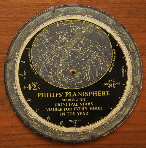 フィリップス星座早見盤(1959年・イギリス製)