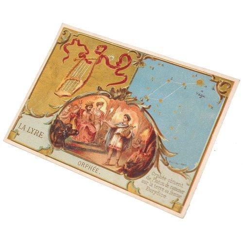 星座のクロモカード(琴座)