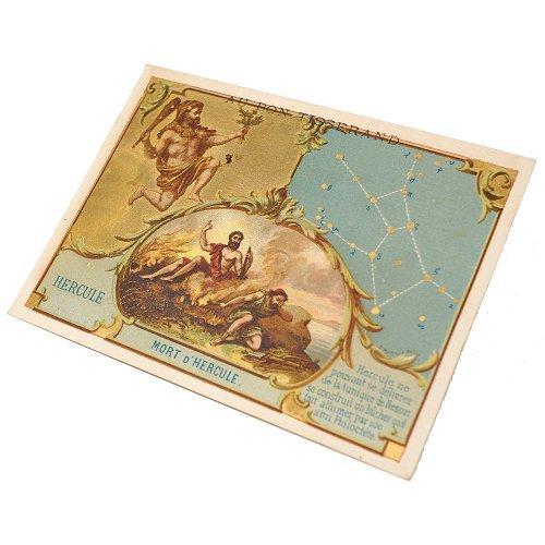 星座のクロモカード(ヘルクレス座)