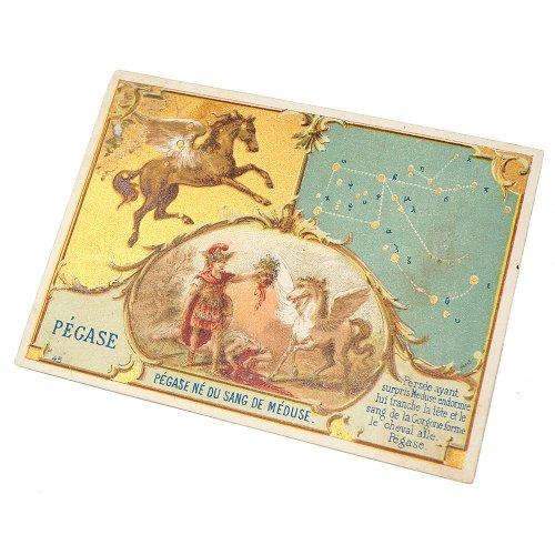 星座のクロモカード(ペガスス座)