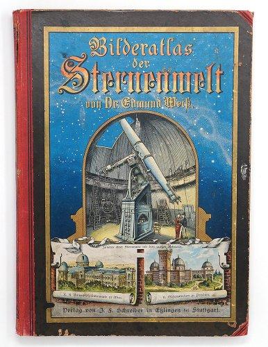 「Bilder-atlas der Sternenwelt.」/ドイツ1888年