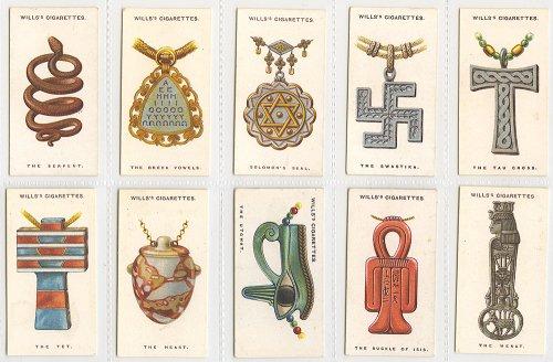 シガレットカード「LUCKY CHARMS」10枚セット/イギリス1923年