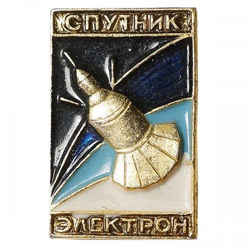 ソビエト宇宙開発ピンバッジ/スプートニク