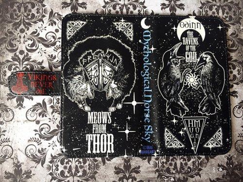 Norse Skyマルチ手帳型スマホケース/Mai Aimheart