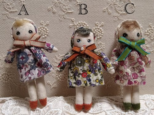 文化人形 小サイズ/megu(3/1まで販売)
