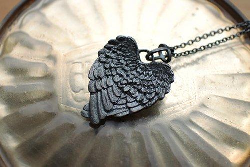 黒い天使の翼ネックレス/麻生美羽(3/6まで期間限定販売)