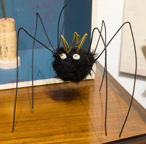 子蜘蛛(黒)/chelsea chiyoco(3/6まで期間限定販売)