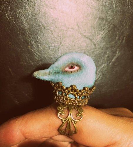bird head ring/tanna(3/6まで期間限定販売)