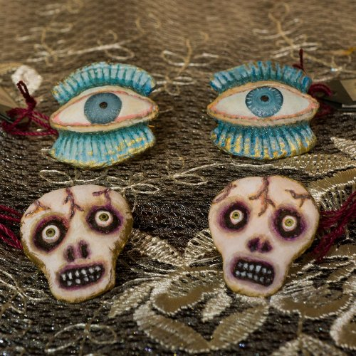 open eye・skull head brooch/tanna(3/6まで期間限定販売)