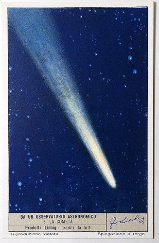天文学カード(1952年/イタリア製)