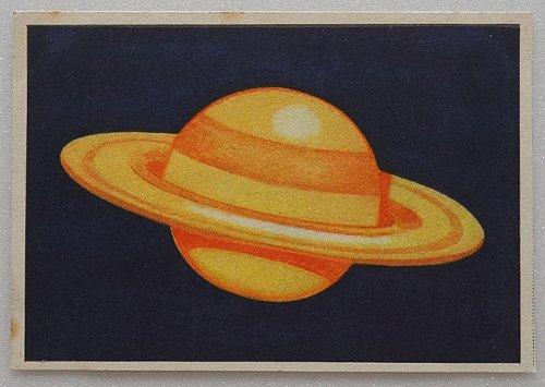 天文学カード(1929年/ドイツ製)