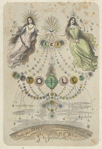 J・J・グランヴィル 「Les Étoiles(星々)」   (フランス1849年)