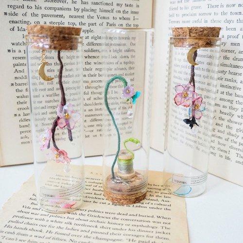 空想刺繍店/「春の瓶詰め」