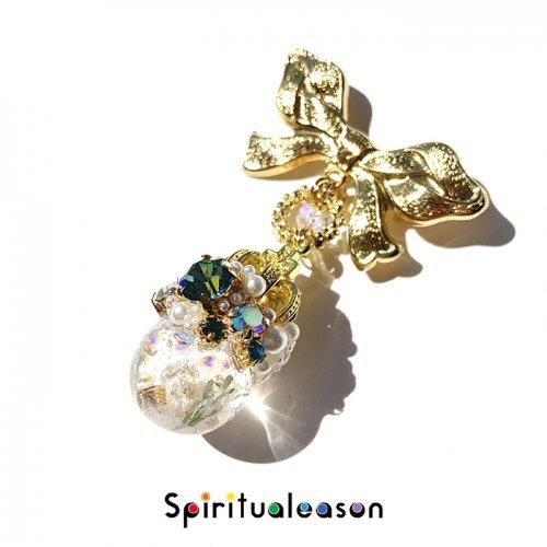 Spiritualeason:スピリズ/ 【スズランのプリンセス】プリンセスオルゴナイトブローチ