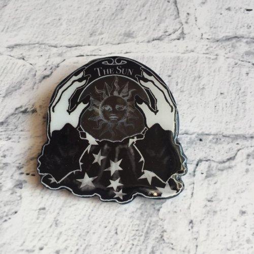 水晶玉ブローチ(太陽)/Mai Aimheart