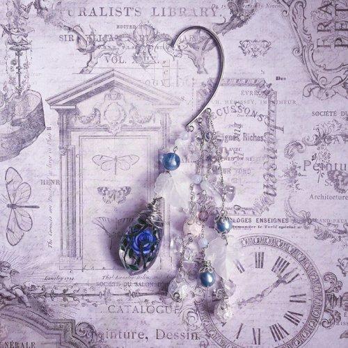 Mai Aimheart/Frozen Blue Roseイヤーフック