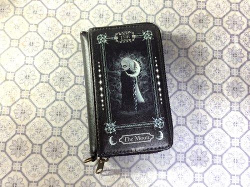 月の神パスケース付きコインケース/Mai Aimheart