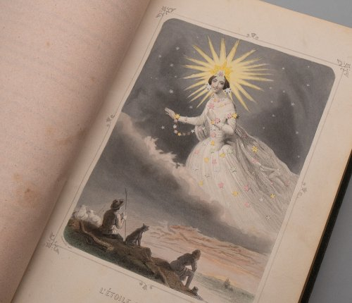 J・J・グランヴィル  「Les Étoiles(星々)」