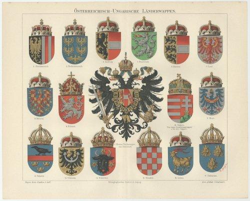 紋章の図版(ドイツ1895年頃)