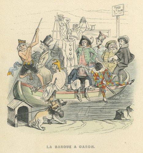 J・J・グランヴィル「もう一つの世界 UN AUTRE MONDE」フランス1844年