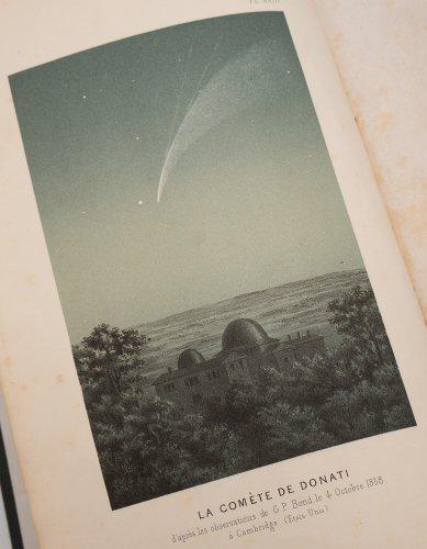 天文古書「LE CIEL」/フランス1870年