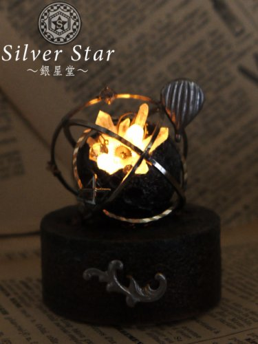 Silver Star〜銀星堂〜/模造満月灯(銀)