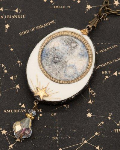 Silver Star〜銀星堂〜/満月鏡のネックレス