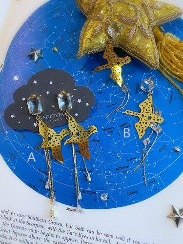 Radiostar/鷲座と白鳥座のピアス