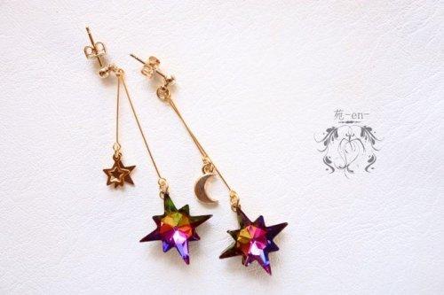 苑-en-/アンタレスの星(耳飾り)