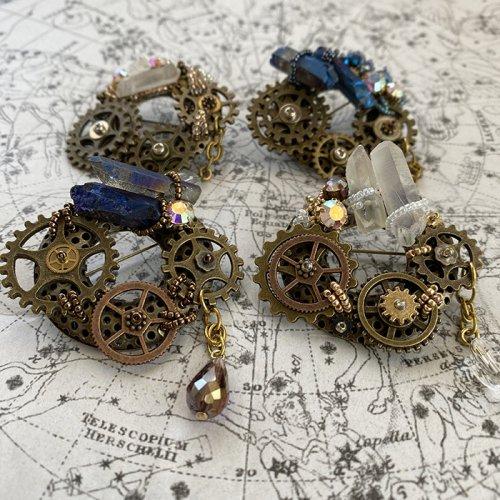 Beads no moto/星空のブローチ