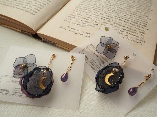 空想刺繍店/或る雨の日の紫陽花