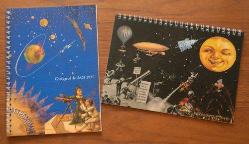 ギニョール&JAM POTオリジナル/天体観測展・月世界旅行ノート