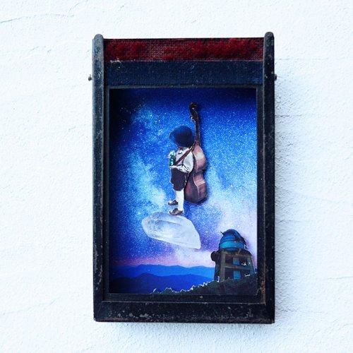 中川ユウヰチ/コラージュBOX「アルビレオ~星の観測所」