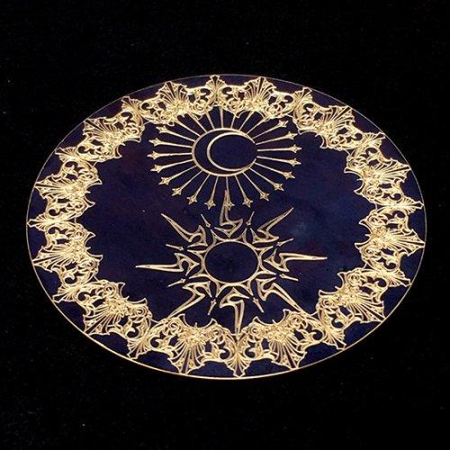 コースター「太陽と月」/GimmelGarden