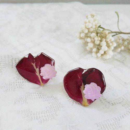 薔薇花びらリング/Kazu-n