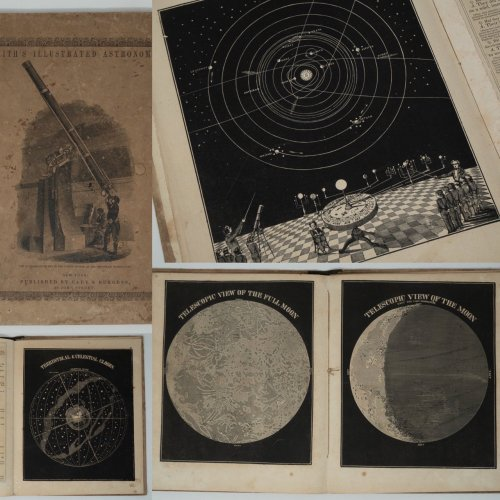 「Smith's Illustrated Astronomy」/アメリカ1849年