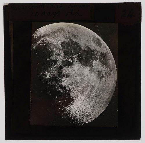 マジックランタン・ガラススライド「月」