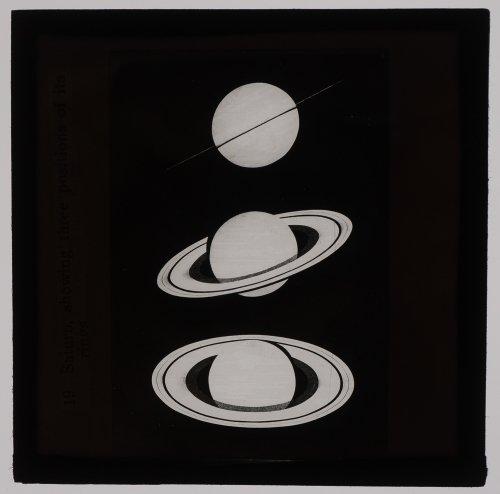 マジックランタン・ガラススライド「土星」