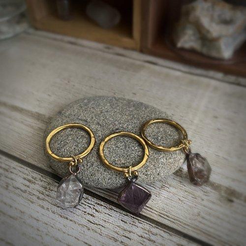 鉱物リング/Beads no moto